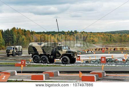 Army Truck Ural-4320