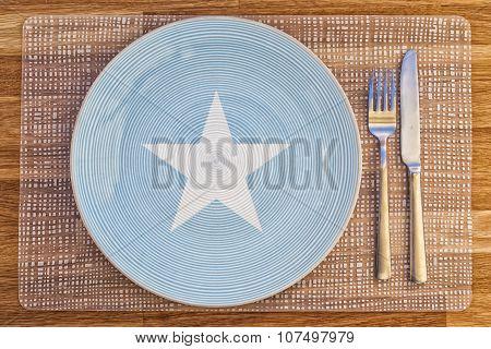 Dinner Plate For Somalia