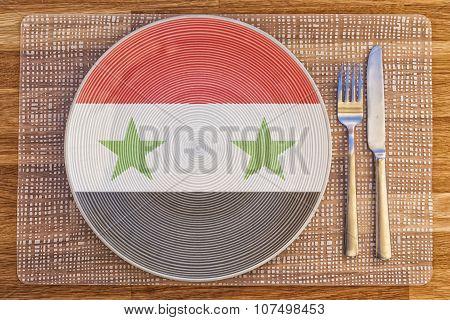 Dinner Plate For Syria