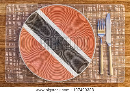 Dinner Plate For Trinidad And Tobago