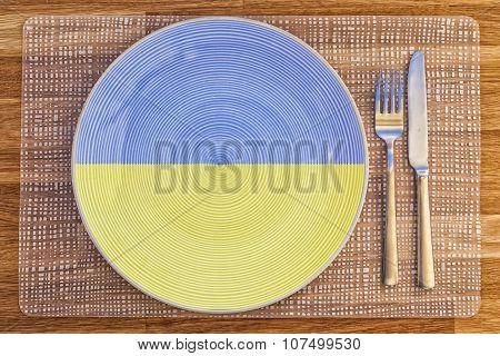 Dinner Plate For Ukraine