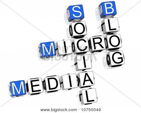 Media Blog Crossword