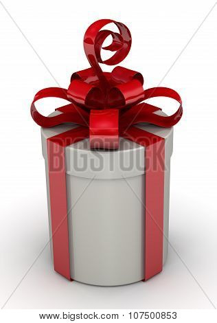 The cylindrical gift box