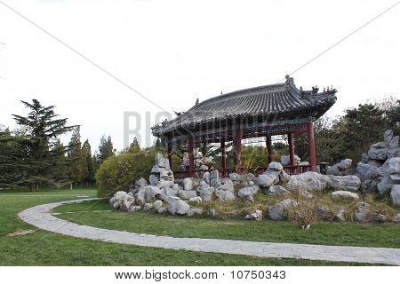 Fan-shaped Pavilion