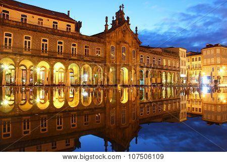 Republic Square, Braga, Portugal