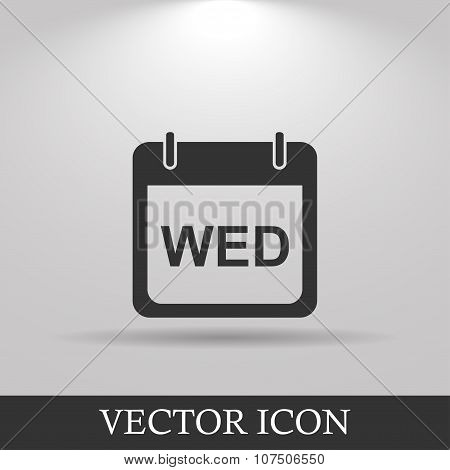 Days Of The Week.  Modern Design Flat Style Icon