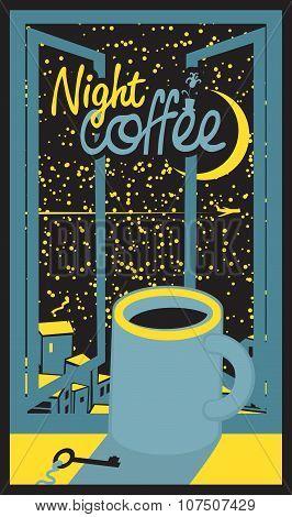 Night Coffee Cup