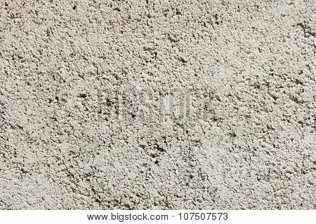 Rough Texture Plastered Surface Of Gray For The Background