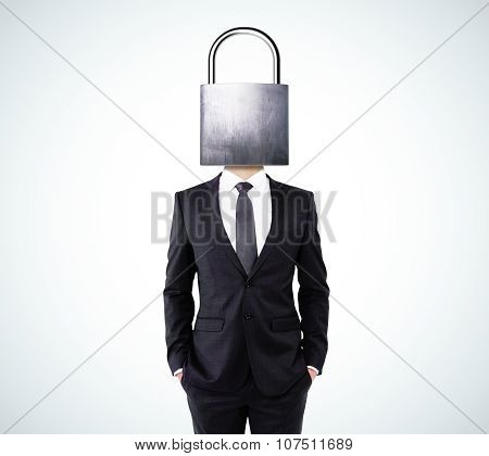 Businessman With Head Lock
