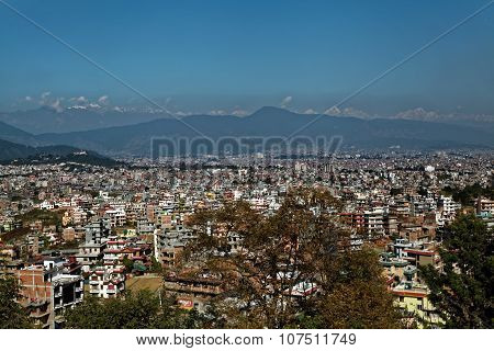 Kathmandu Valley Panoramic View