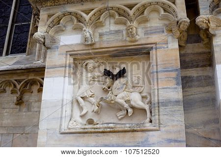 Milan Cathedral Decoration
