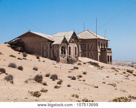 Kolmanskop Ghost Town in Namibia