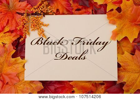 Black Friday Deals Card