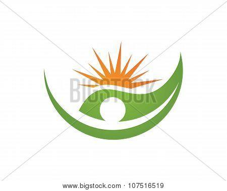 Eco Leaf Logo