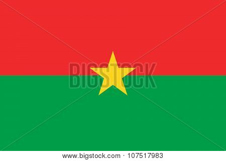 Flag of Burkina - Faso