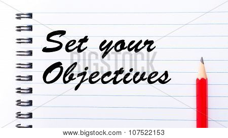 Set Your Objectives