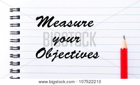 Measure Your Objectives