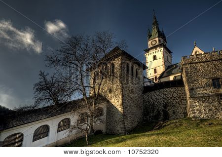 Walls Surrounding The Town Castle, Kremnica, Slovakia