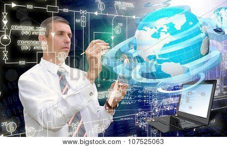 Globalization Connection Internet Technology.generation Communications