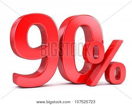 ninety percent discount