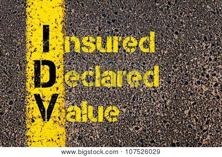 Business Acronym Idv As Insured Declared Value