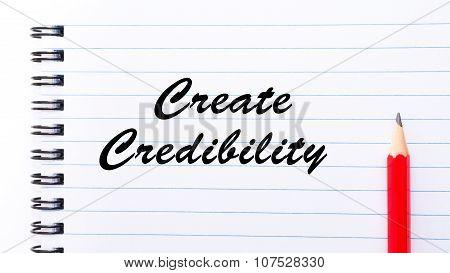 Create Credibility