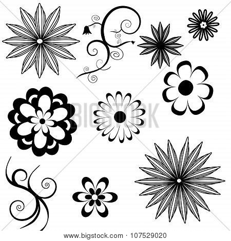 Flower Icons A