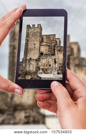 Photographing A Medieval Castle