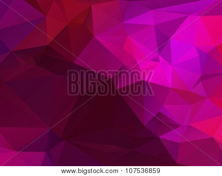 Abstract Triangular Background