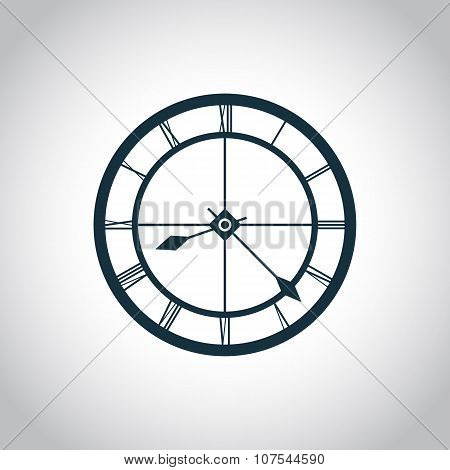Clock simple icon
