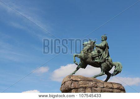 Monument to Bohdan Khmelnytsky, Kiev, Ukraine