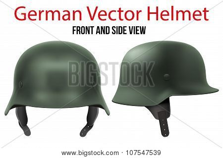 Military German helmet of WW2