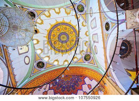 Interior Of A Turkish Mosque