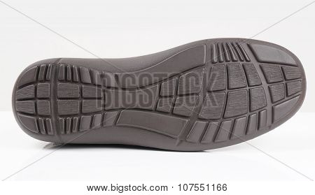rubber sole of a shoe