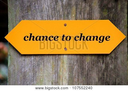 chance to change