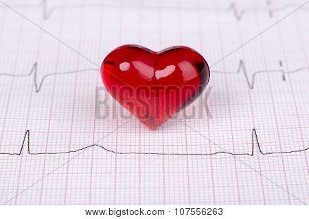 Ekg With Heart