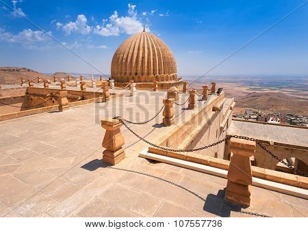 Dome Of Zinciriye Medrese, Mardin, South East Turkey