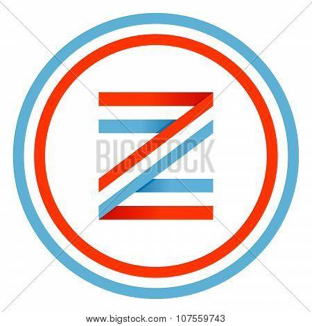 Z Letter Design Template