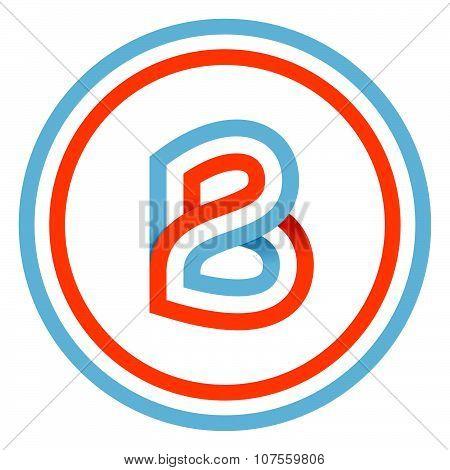 B Letter Design Template