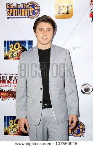 LOS ANGELES - NOV 7:  Mateus Ward at the Kids In The Spotlight's Movies By Kids, For Kids Film Awards at the Fox Studios on November 7, 2015 in Century City, CA