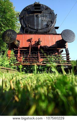 Abandoned Steam Locomotive