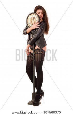 Posing Dancing Woman