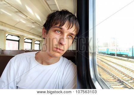 Sad Man In The Train