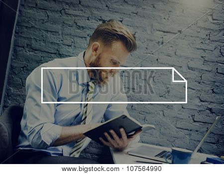 Paper List Copy Space Blank Memo Text Concept