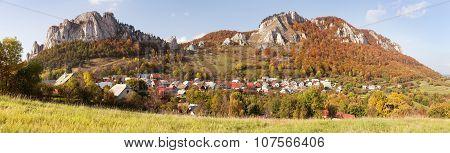 Vrsatec And Vrsatecke Podhradie Village - Slovakia