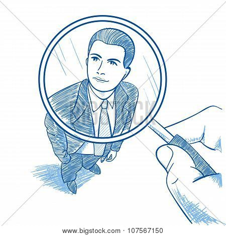 Zoom Magnifying Glass