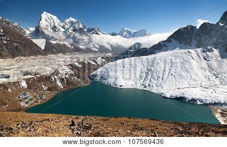 Dudh Pokhari Tso Or Gokyo Lake, Gokyo Village
