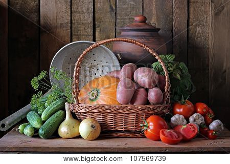 Still Life With Vegetables.
