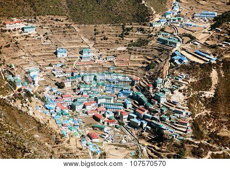 Namche Bazar - Sagarmatha National Park - Khumbu Valley