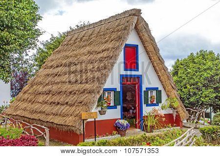 Typical Triangular House, Madeira